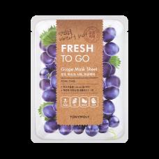 Fresh To Go Grape Mask Sheet - Pore Care