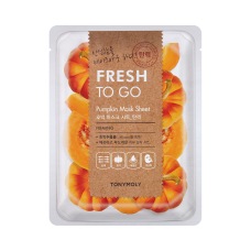 Fresh To Go Pumpkin Mask Sheet - Firming