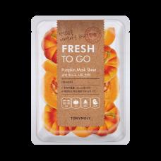 Fresh To Go Pumpkin Mask Sheet - Firming