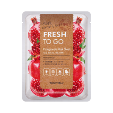 Fresh To Go Pomegranate Mask Sheet - Whitening