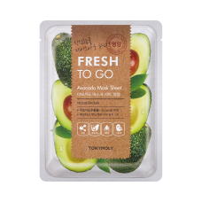 Fresh To Go Avocado Mask Sheet - Nourishing
