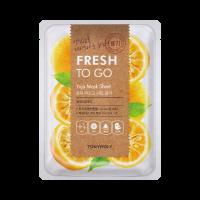 Fresh To Go Yuja Mask Sheet - Shining