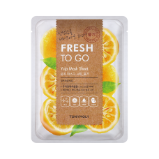 Fresh To Go Yuja Mask Sheet - Shining