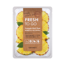 Fresh To Go Pineapple Mask Sheet - Brightening