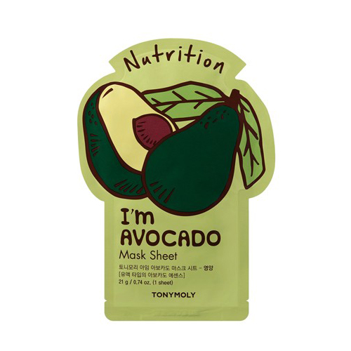 I'm Avocado Mask Sheet - Nutrition