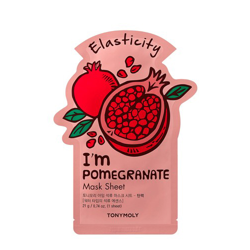 I'm Pomegranate Mask Sheet - Elasticity