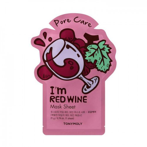 I'm Red Wine Mask Sheet - Pore Care