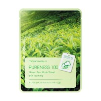 Pureness 100 Green Tea Mask Sheet - Skin Soothing