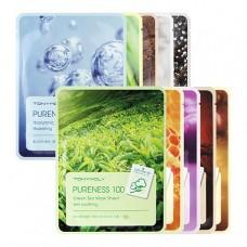 10 pcs. Pureness 100 Mask Sheet Set