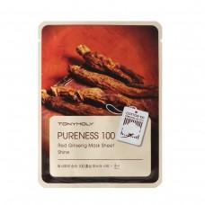 Pureness 100 Red Ginseng Mask Sheet - Shine