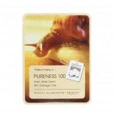 Pureness 100 Snail Mask Sheet - Skin Damage Care