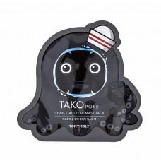Tako Pore Charcoal Clear Mask Pack
