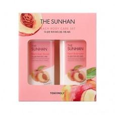The Sunhan Peach Body Care Set